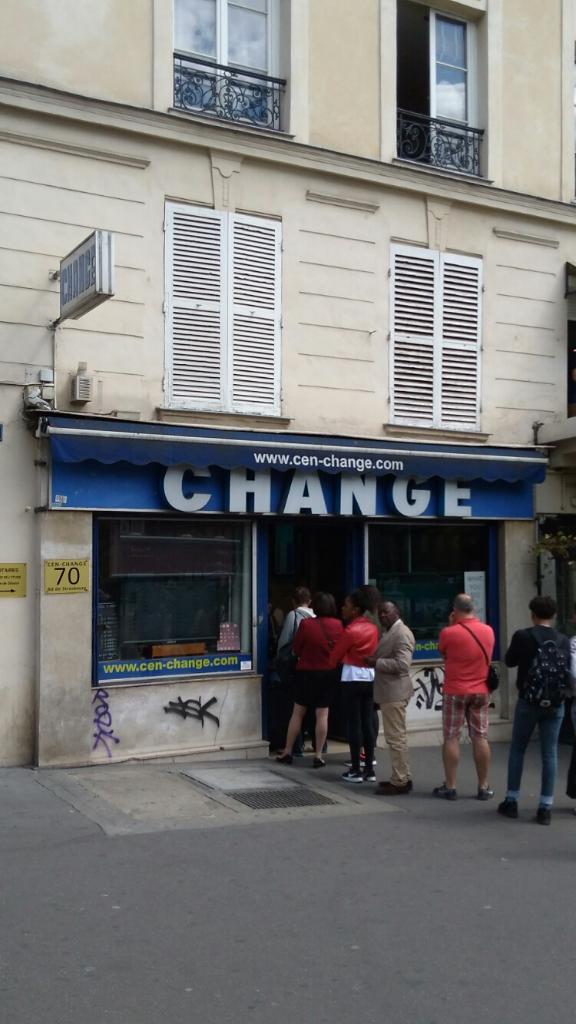 cen change bureau de change 70 boulevard de strasbourg 75010 paris