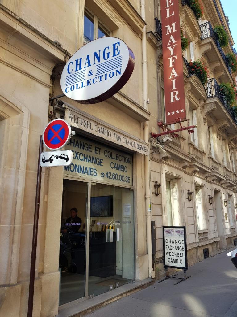 Change Et Collection Bureau De Change 1 Rue Rouget De
