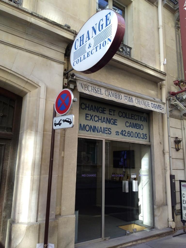 change et collection bureau de change 1 rue rouget de lisle 75001 paris adresse horaire