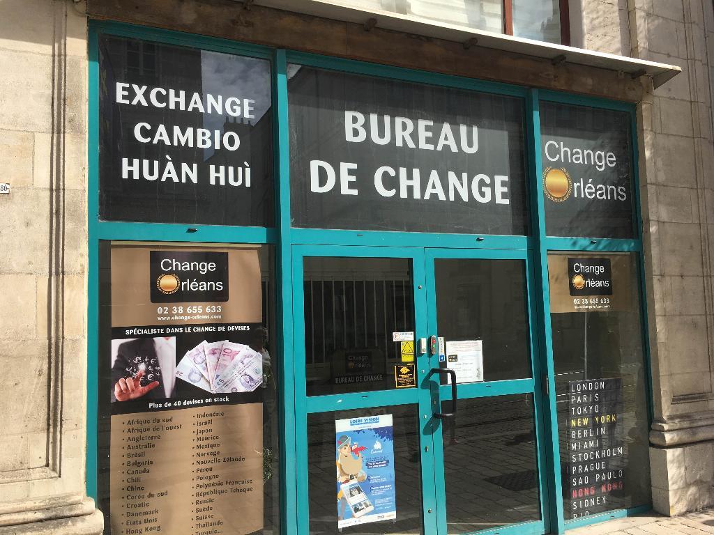 bureau de change 20 rue jeanne d arc 45000 orleans