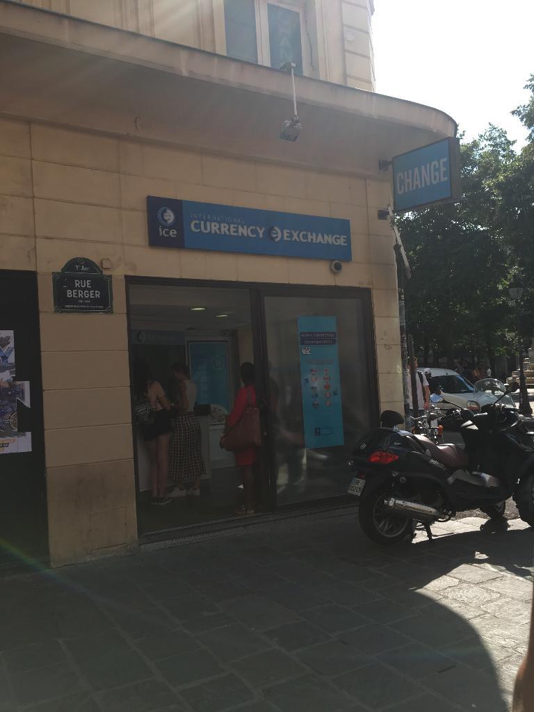 Exchange Corporation France Bureau De Change 9 Rue