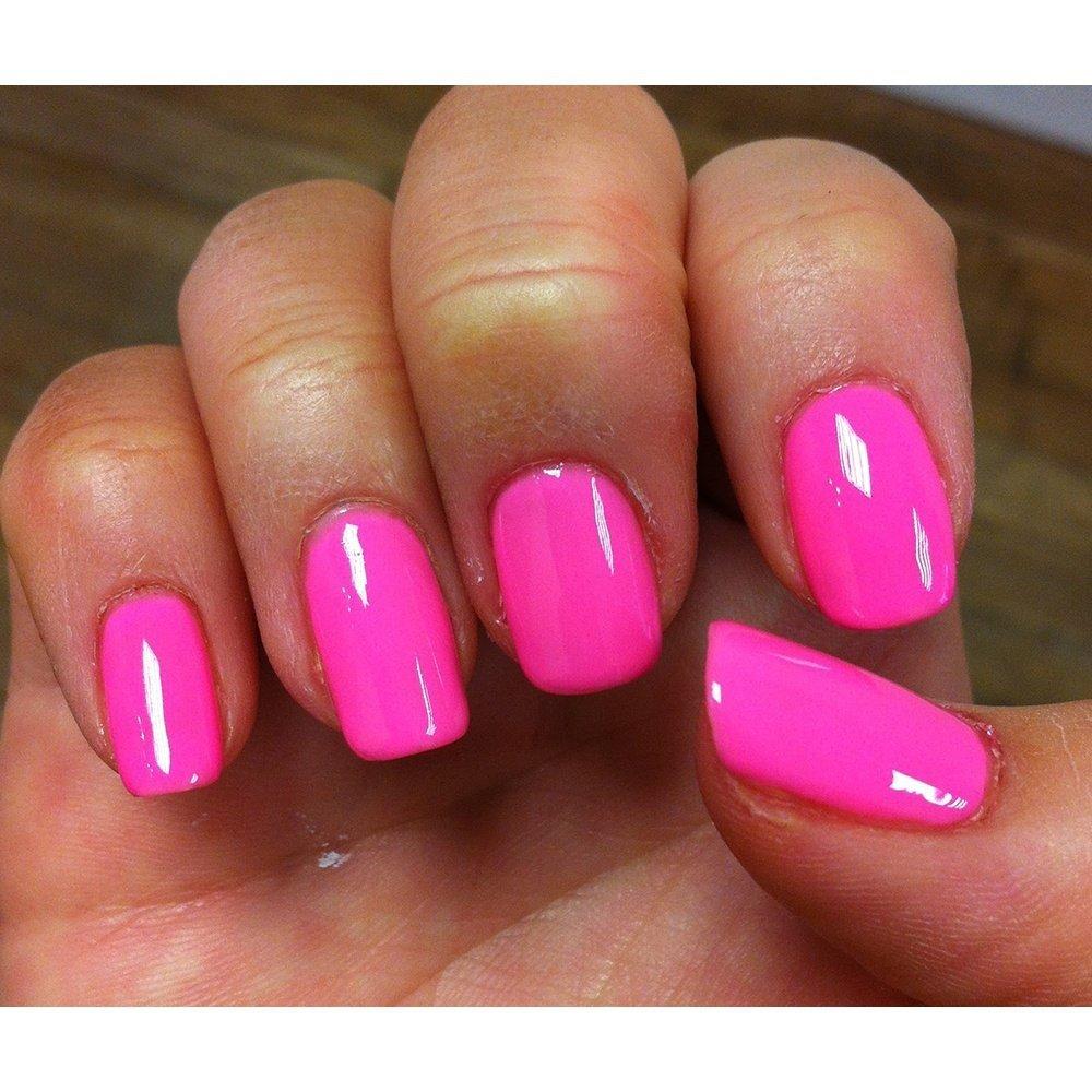 Lakier Hybrydowy Kolor Make You Blink Pink 1110181 Gelish