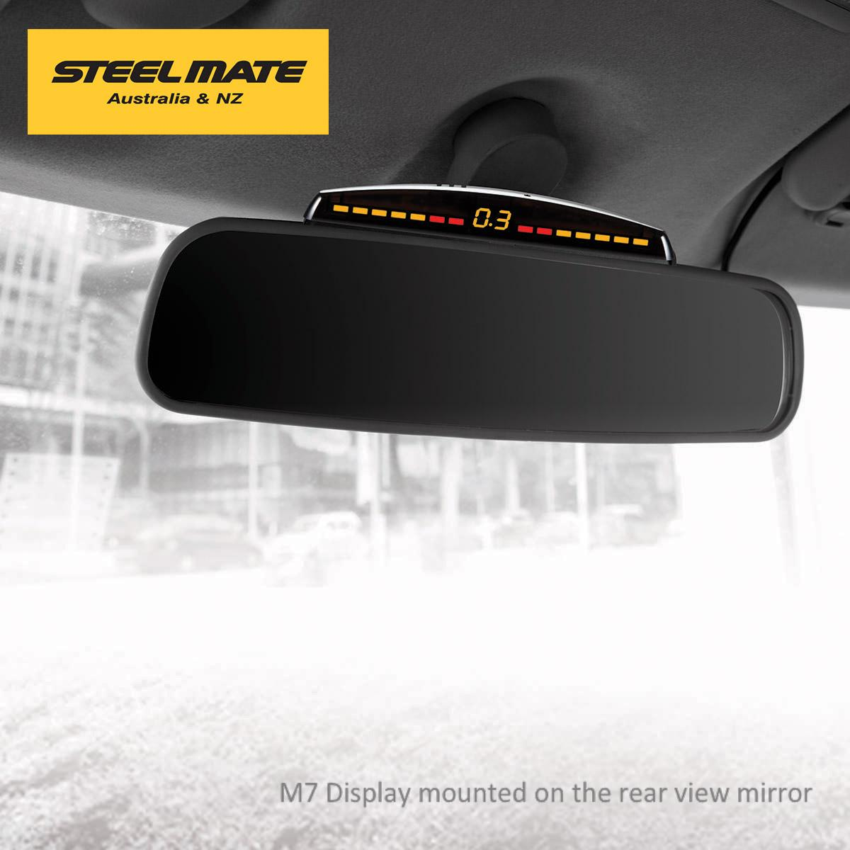 Rear Car Steelmate View System