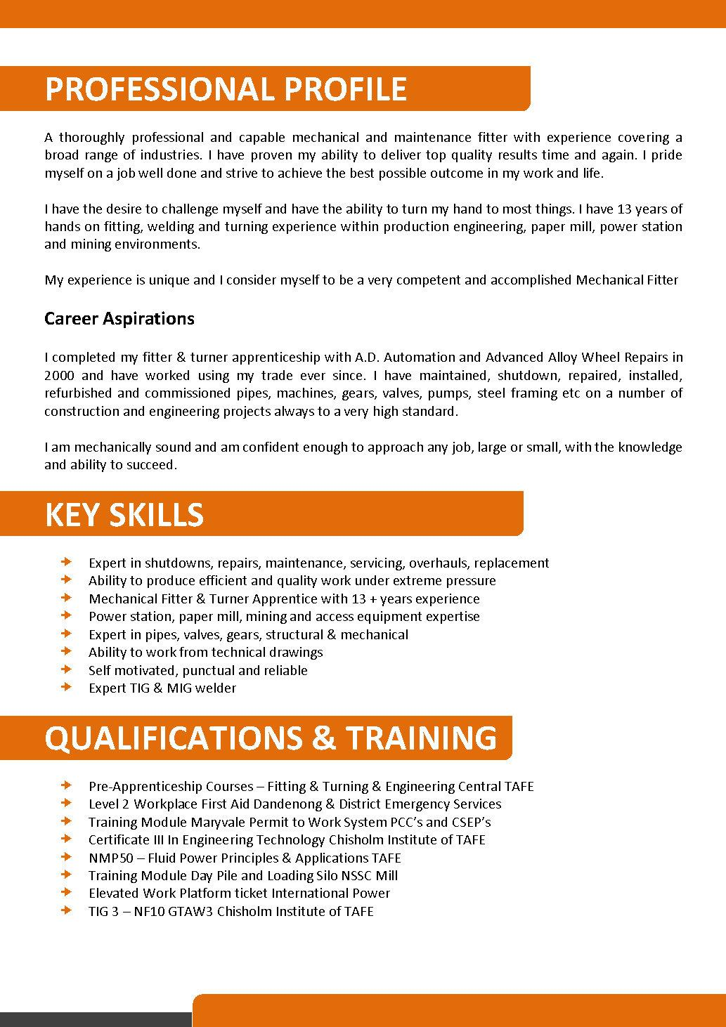 Australian Resume Formats. resume engineers and resume templates ...