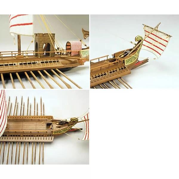Caesar Római gálya hajómakett építőkészlet Mantua