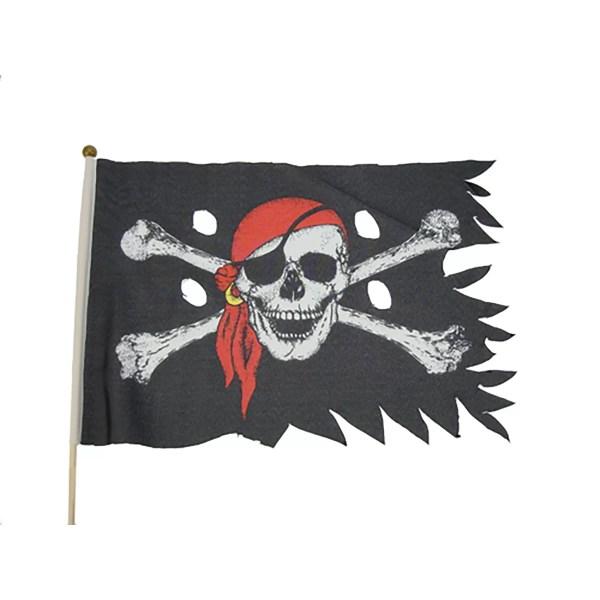 Kalóz zászló 45 cm Kalóz