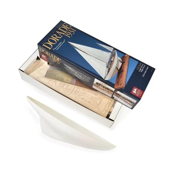 Dorade Fastnet Yacht hajómakett építőkészlet Amati