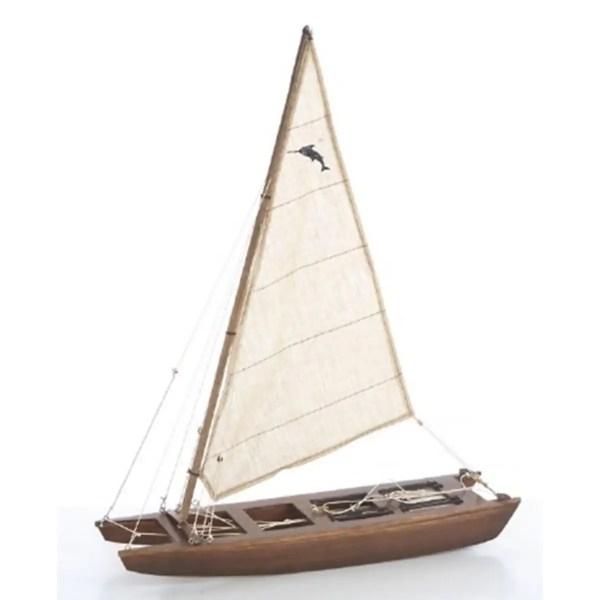 Katamarán makett L37 Vitorlás hajómakett