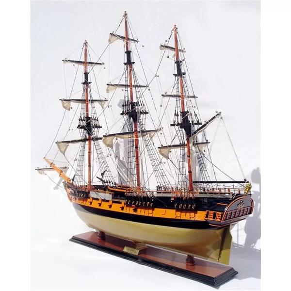 HMS Surprise makett Történelmi makett