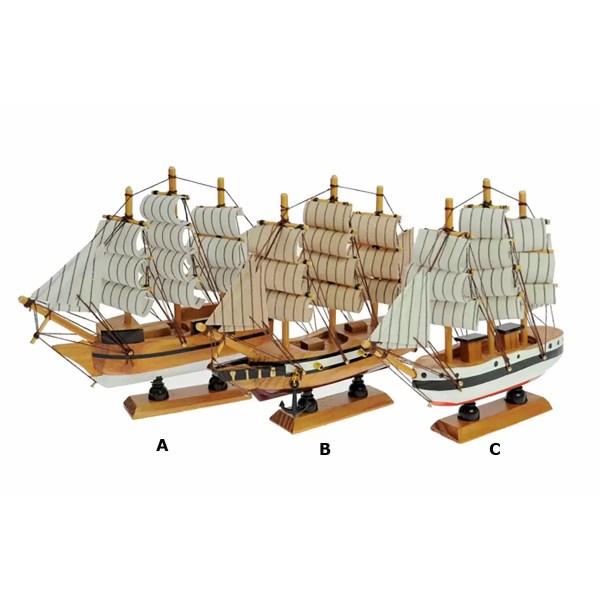 Öreg vitorlások L16 Szuvenír hajómakett