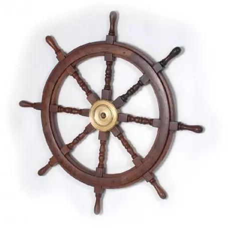 Hajókormány 90 cm Kormány, Horgony