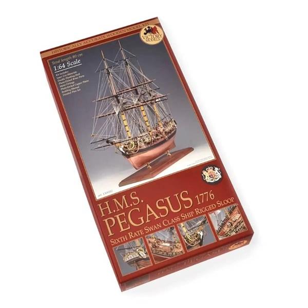 H.M.S. Pegasus hajómakett építőkészlet Victory Models
