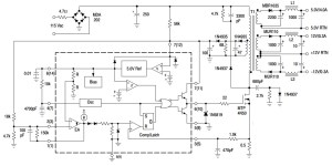 UC3842B_Typical Application Reference Design | DC to DC