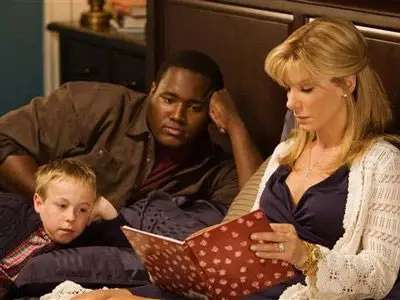 The book about a wealthy family that took in a poor high-school football player was turned into a hit film in 2010.