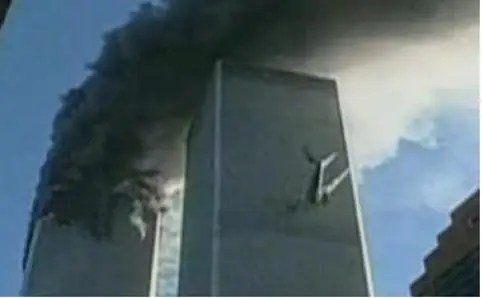 9:09 a.m., New York: Plane crashes into second World Trade Center tower.