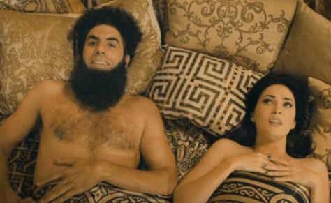 Sacha Baron Cohen & Megan Fox in The Dictator