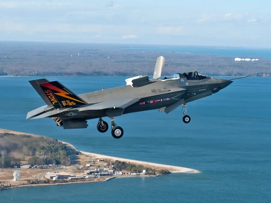 The F-35 is named after the World War II twin-prop Lockheed P-38 Lightning