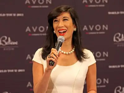 Avon Products CEO Andrea Jung