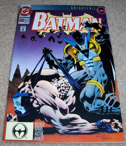 Batman Knightfall, DC Comics