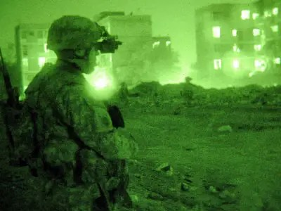 ITT Corporation transferred night vision goggles and laser weapon countermeasures to engineers in China