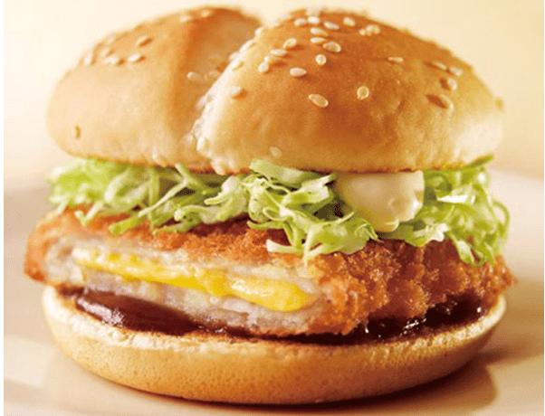 McDonald's Cheese Katsu Burger
