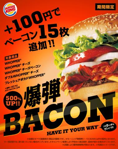 Burger King's Big Bacon Bargain