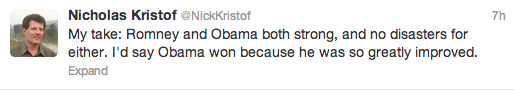 nick kristof tweet