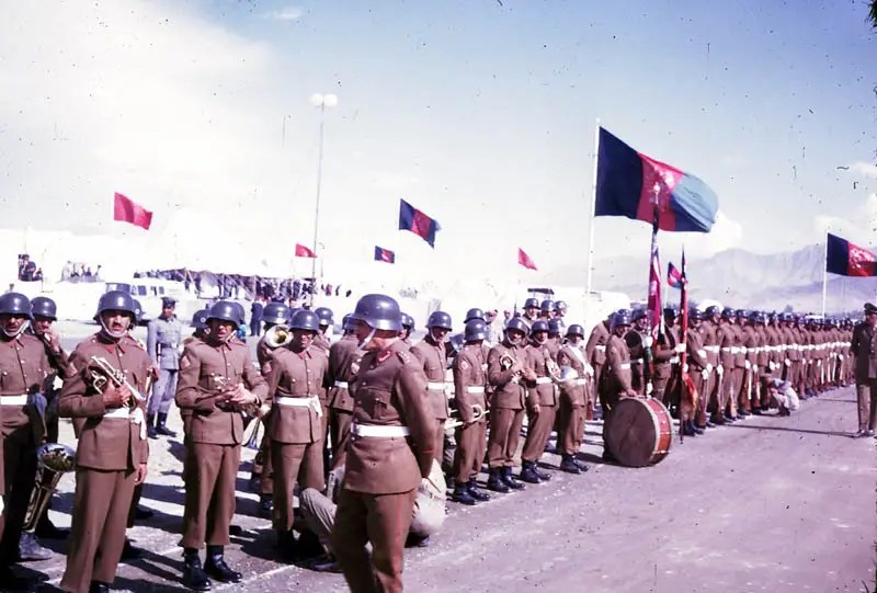 Afghanistan had a modern military since reforms by King Amanullah Khan in the 1920s.