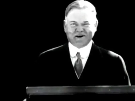 Elected in 1928, President Herbert Hoover was the first politician to embrace the central role of consumerism.