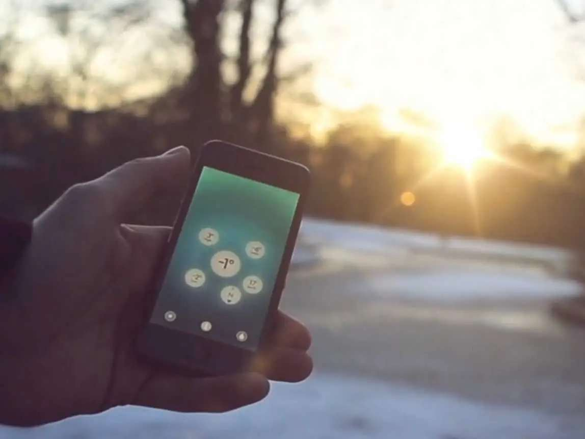Haze is a gorgeous weather app that furthered the good app design movement.