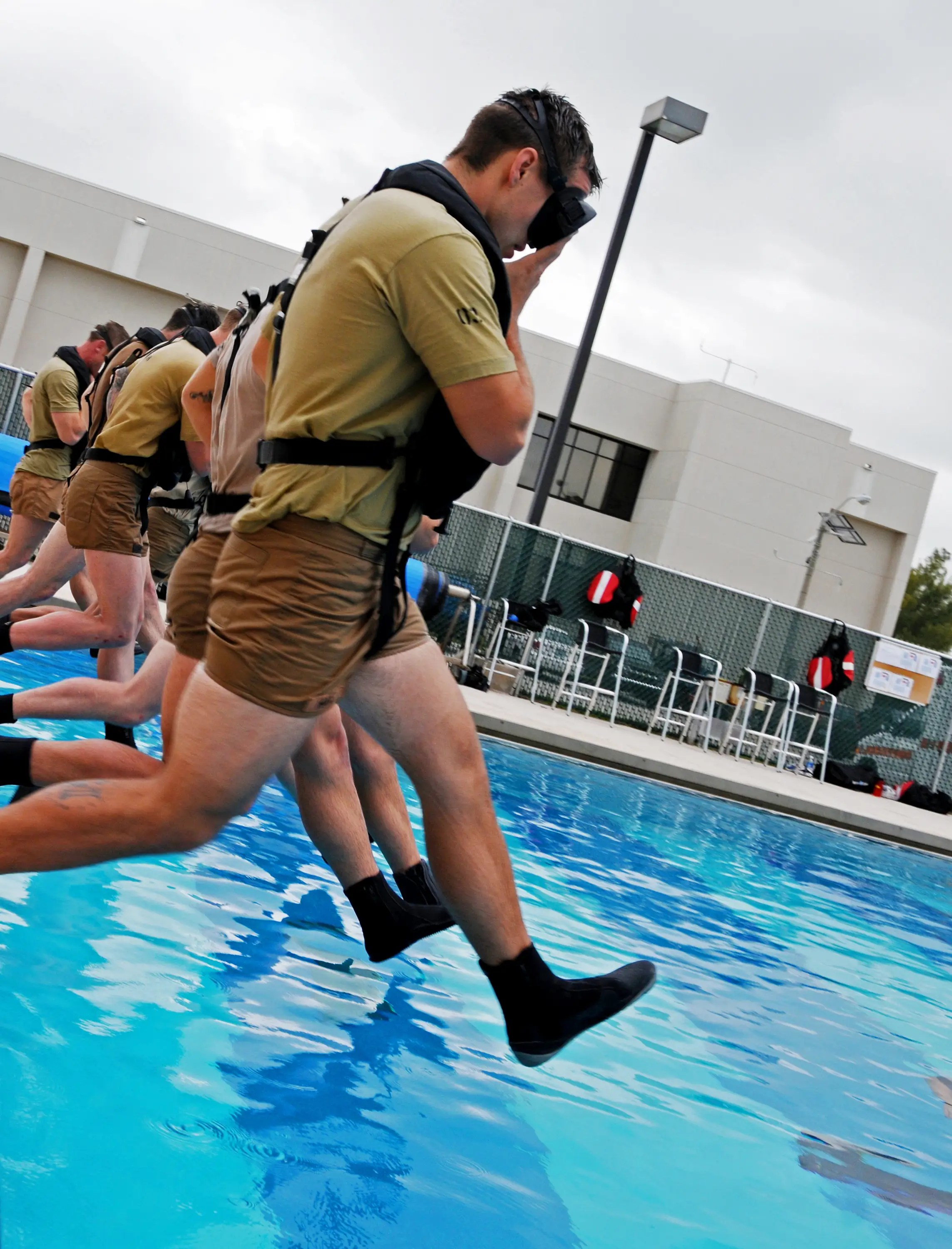 It's not only Navy SEALs in the water.