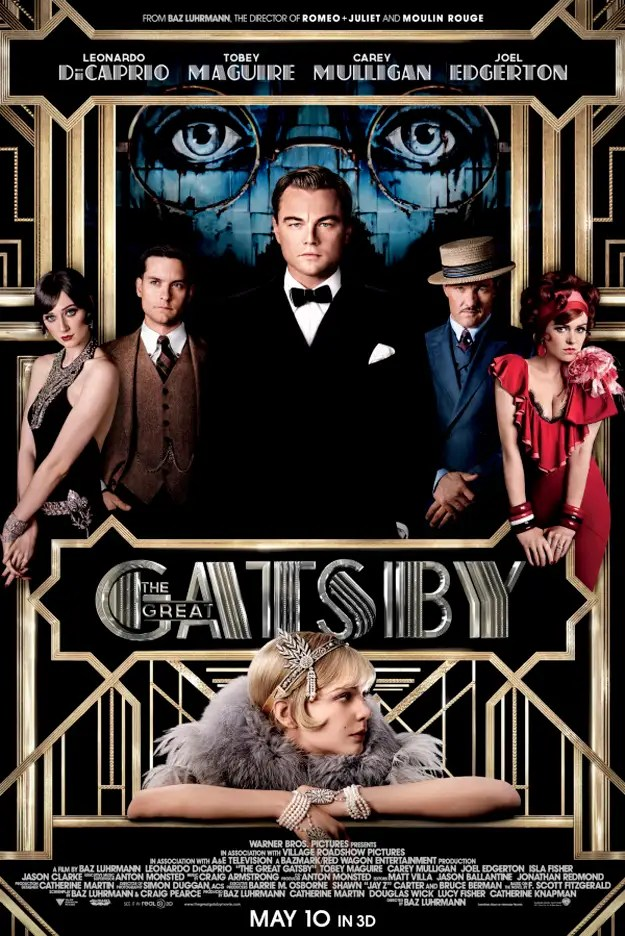 see also stunning posters of quot the great gatsby quot cast gt