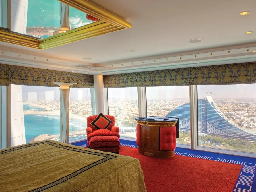 And nearly all rooms have incredible views of the Gulf, desert, or city.