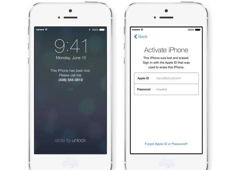 There's no need to use a third-party lost iPhone finder. If you lose your phone, Apple will let you deactivate it remotely. The phone can't be reactivated again unless the thief has your Apple ID and password.