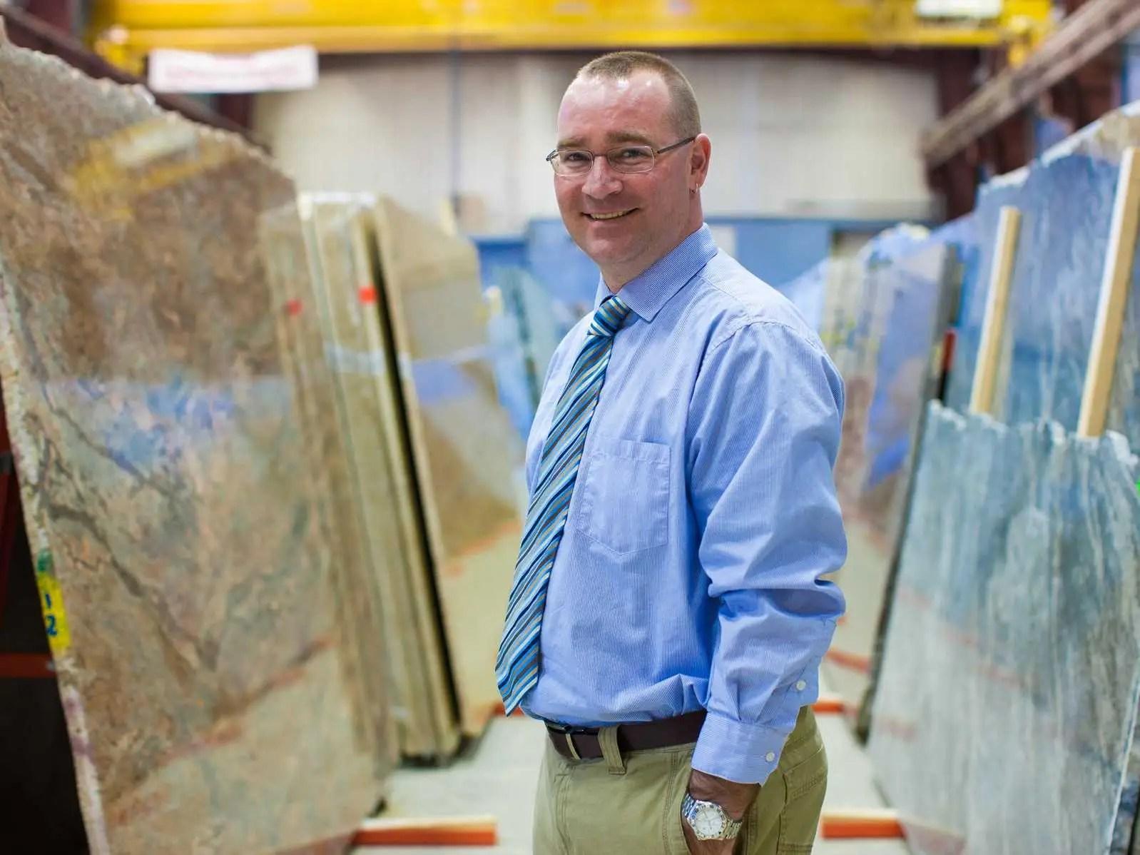MAINE: Matt Qualey, President Granite & Stone Fabrication