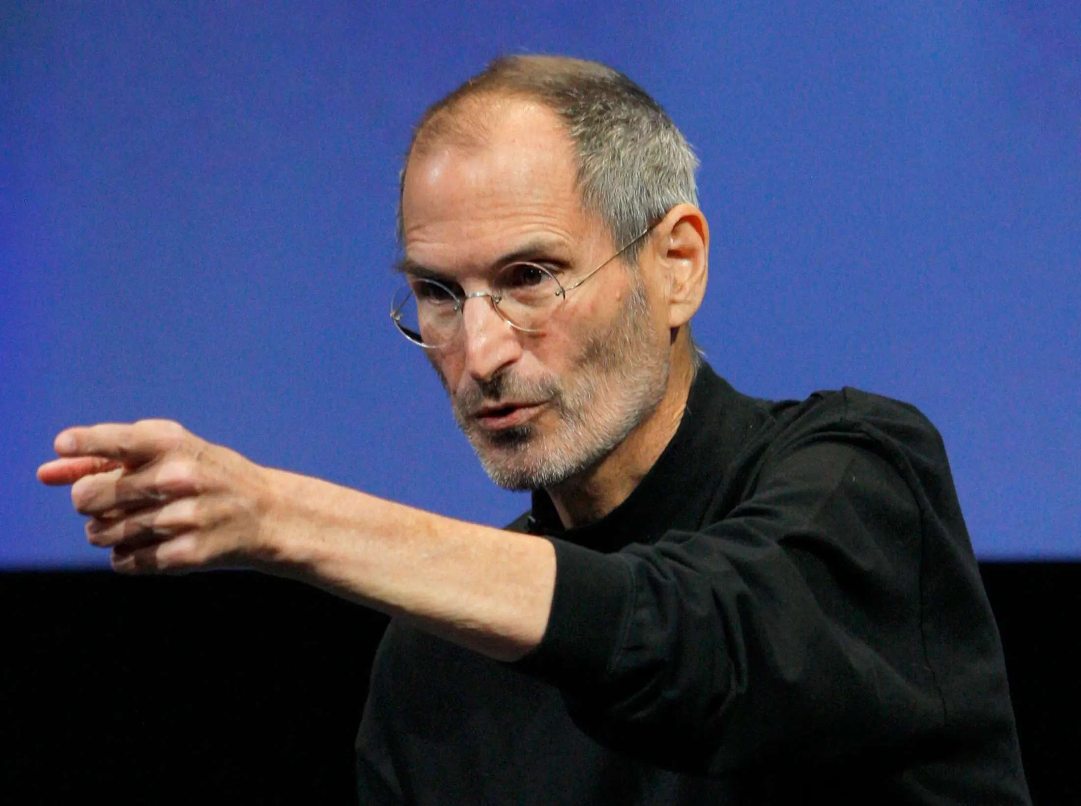 The late Apple CEO Steve Jobs kept meetings as small as possible.