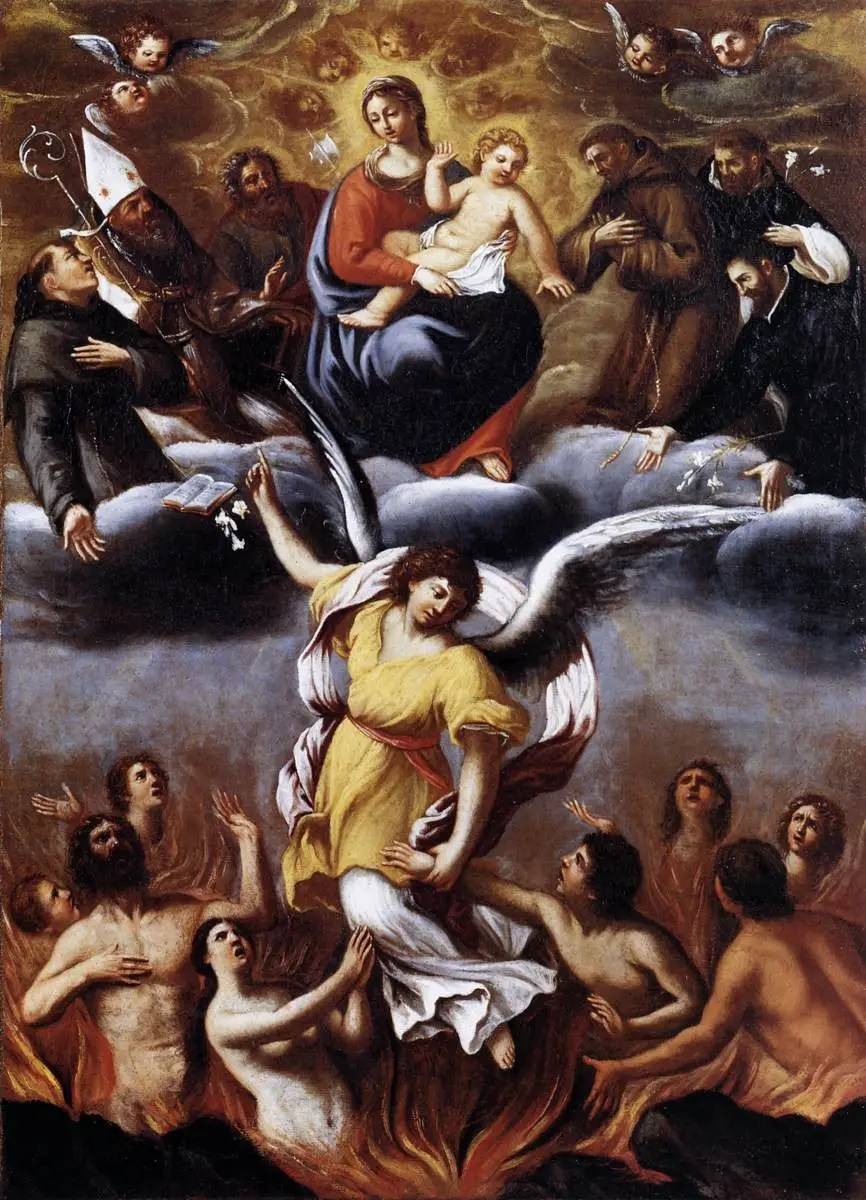 Carracci Purgatory