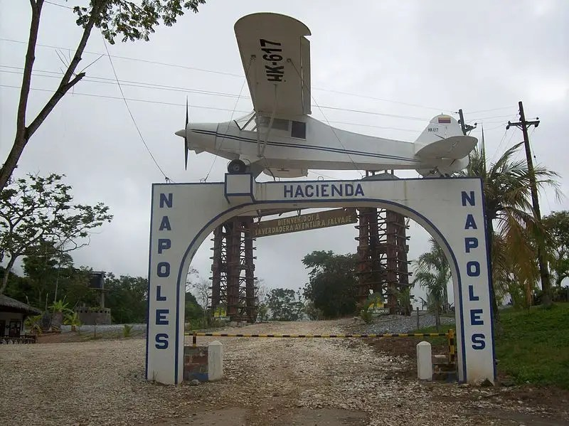 Hacienda Nápoles home of Pablo Escobar