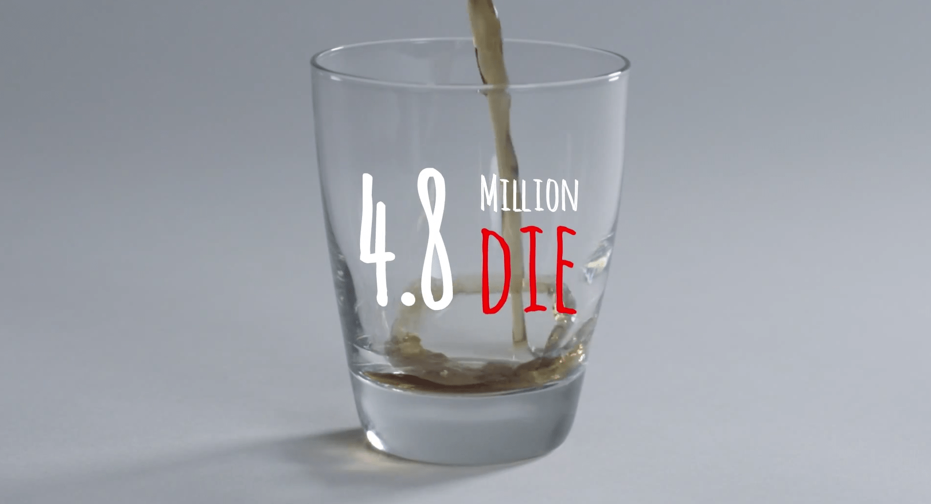 4.8 million die of the chronic disease every year.