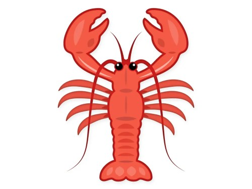 Emoji Lobster