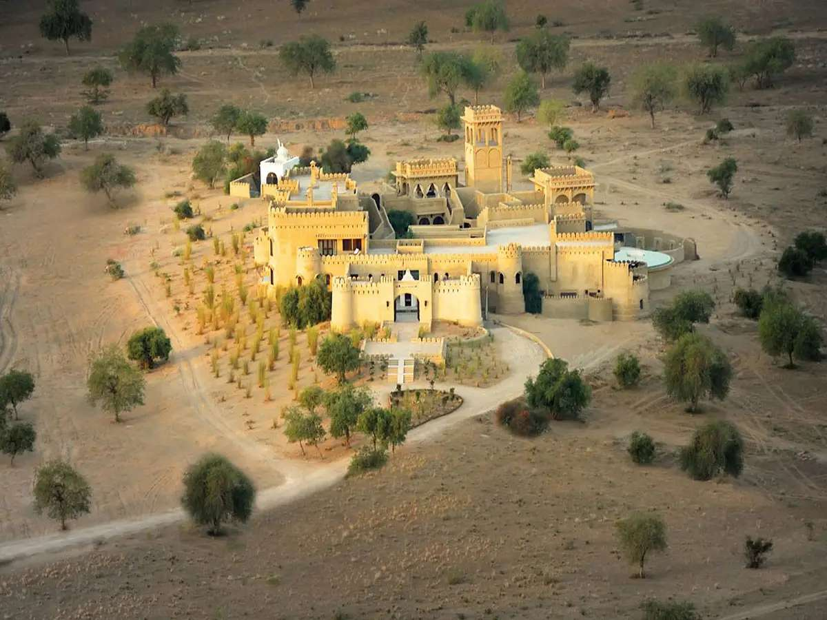 """Live like a Maharaja in the Mihir Garh hotel near Jodhpur in India, which Lonely Planet called """"most extraordinary place to stay in 2014."""""""