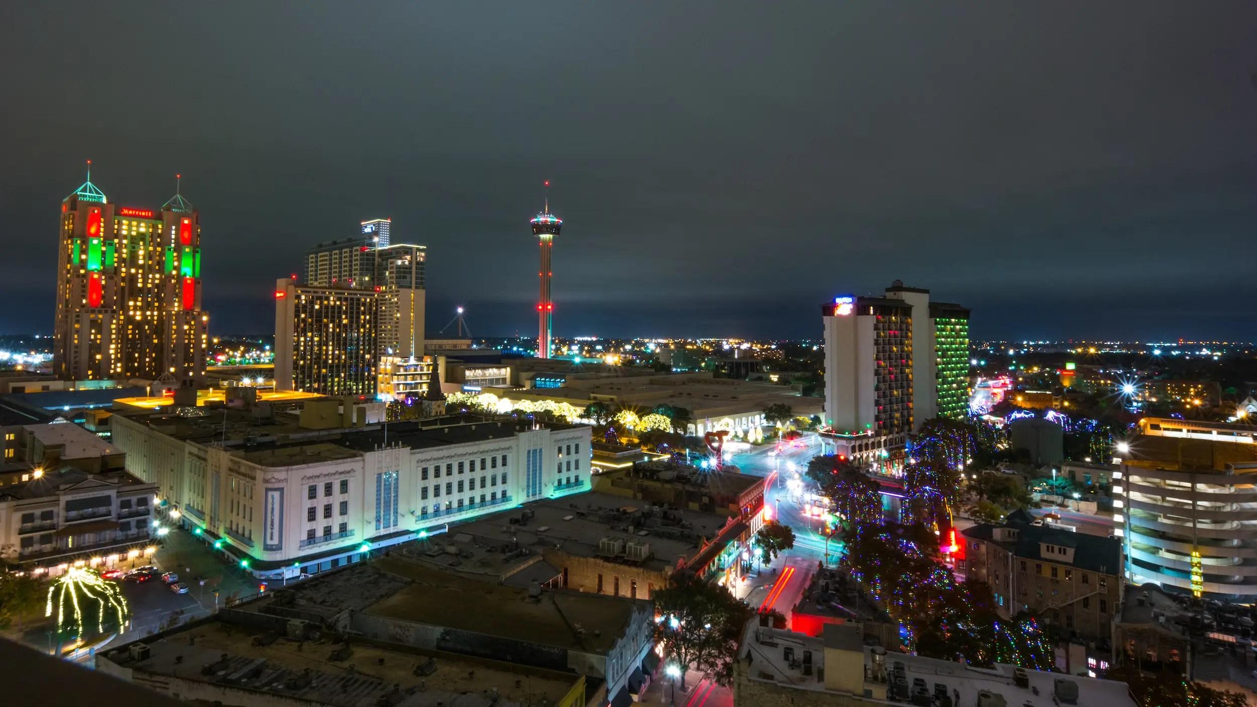 15 (tie). San Antonio, Texas: 47.01 hours
