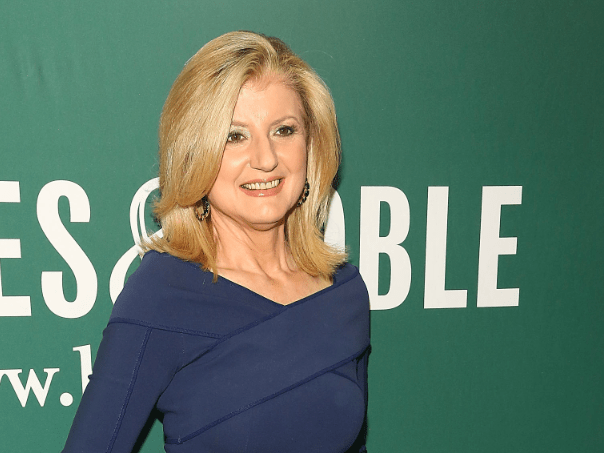 Huffington Post founder Arianna Huffington says that money and power aren't enough.