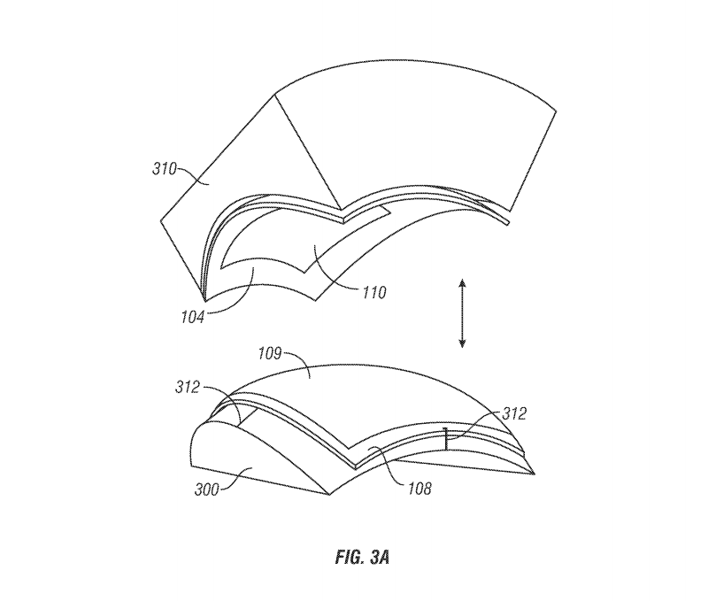 iWatch Curved Display Patent