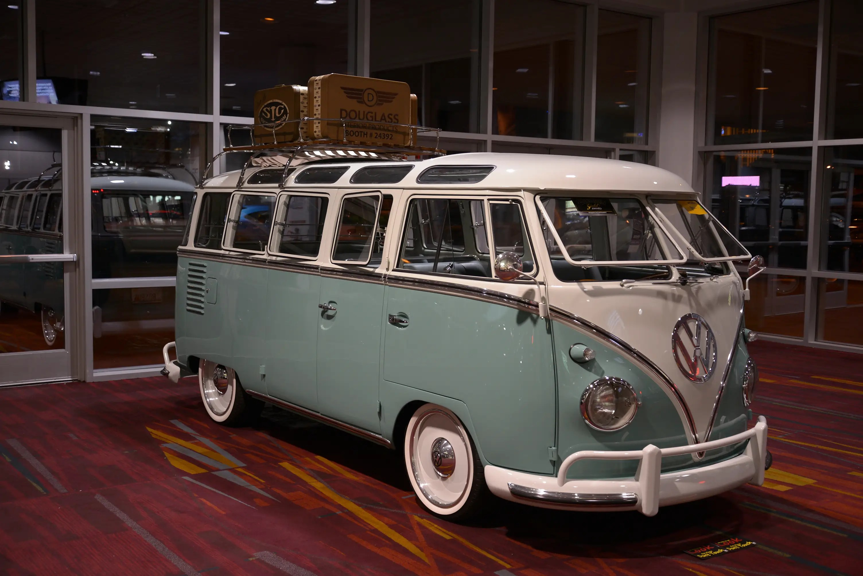 Although this Volkswagen Bus never stopped being cool.
