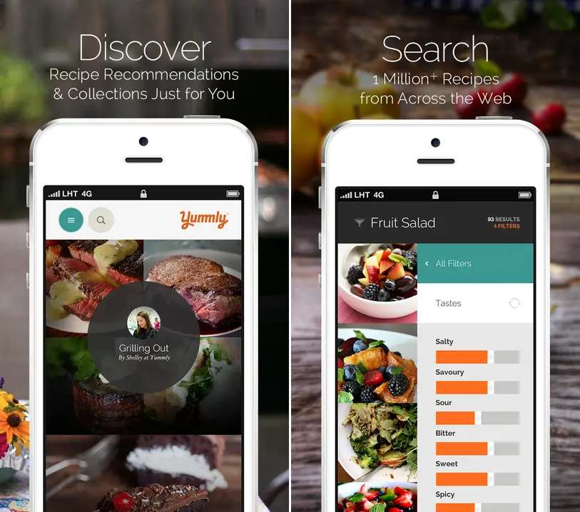 "Yummly claims to give you access to ""every recipe in the world."""
