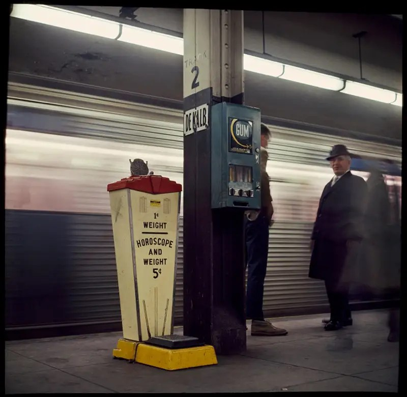 Danny Lyons Subway Photography