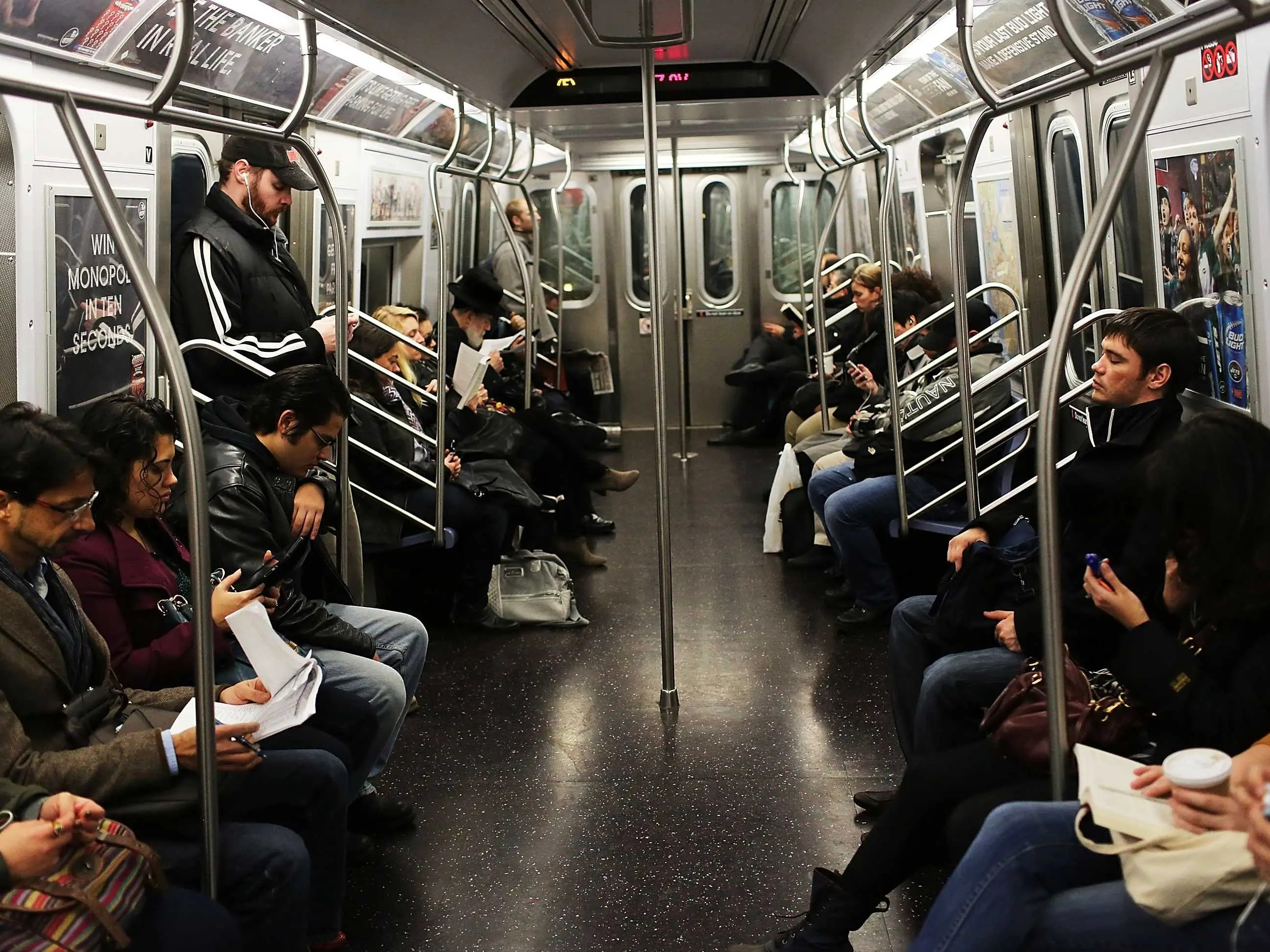 Public Transportation Is Better For Health Than Driving