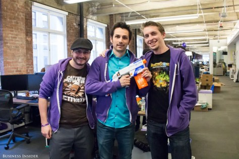 The purple Twitch hoodies are considered prized possessions in the gaming community. The company sold 2,000 sweatshirts when its online store relaunched last year; today, they go for upwards of $500 on Ebay.