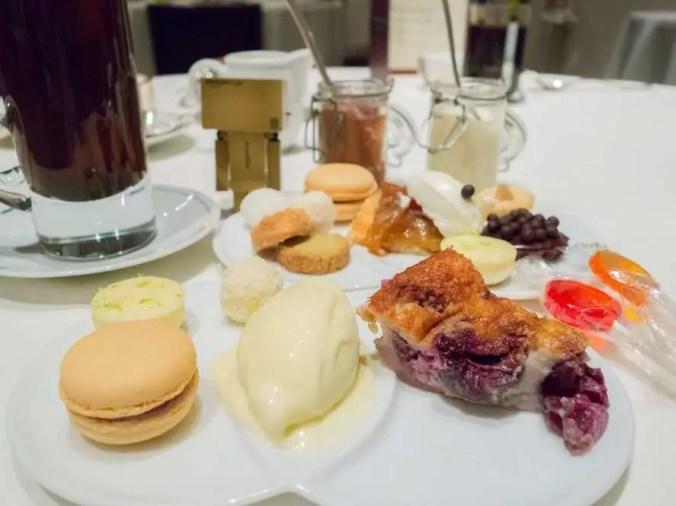 Restaurant Guy Savoy, Las Vegas, desserts